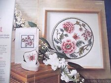 MAGIC OF THE EAST EXOTIC BUTTERFLIES & ORIENTAL BLOSSOM  CROSS STITCH CHART