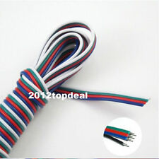 10M 4-PIN RGB Extension Wire Cable Cord For 3528/5050 RGB LED Strip Light