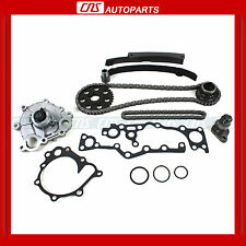 "90-95 Toyota Previa 2.4L Engine Timing Chain Set + Water Pump Kit ""2TZFE"" New"