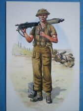 POSTCARD ROYAL NORTHUMBERLAND FUSILIERS - ITALY 1944 FUSILIER 1ST BATL