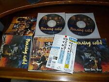 Running Wild / Under Jolly Roger + Port Royal JAPAN 2CDBOX 1ST PRESS!!!!! *E