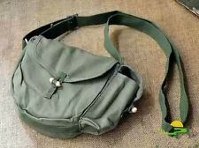 Vintage Military Army Outdoor Canvas Travel Surplus Camera Wallet Bag Navy Green