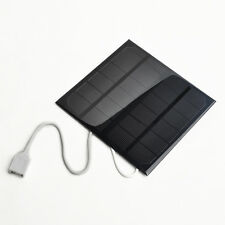 Solar Panel USB Travel Battery Charger 6V 3W 580-600MA NEW For iPhone 4S 5S