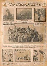 Diogene Poilus Lance-Grenades Tommy Red Cross Bataille Dardanelles WWI 1915