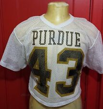 Vintage University of Purdue Boilermakers 1980's Belly Shirt Football Jersey S-M