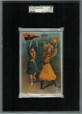 SGC 4.5 1903 Tetlow PRINCETON BASKETBALL College Girl Series Highest One Graded