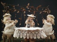German Musical Manivelle Automaton of a Tea Party (watch video)
