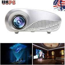Mini Home Multimedia Cinema Theater LED Projector 1080P AV TV VGA USB HDMI SD
