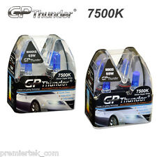 GP-Thunder 7500K Xenon Halogen Light Bulb White 9005XS 65W + 9006XS 55W 2 Pairs