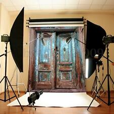 5X7FT Retro Old Door Wall Photography Backdrop Background Photo Studio Props