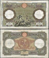 100 Lire Capranesi 1/6/1938 Azzolini - Urbini