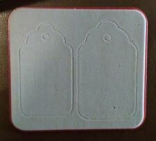Sizzix Sizzlits TAG TAGS SCALLOP Die Cutter fits Big Shot & Cuttlebug