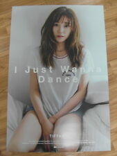 TIFFANY SNSD GIRLS' GENERATION - I JUST WANNA DANCE (TYPE A) [ORIGINAL POSTER]