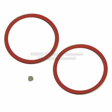 Two Victor Victrola No.2 Reproducer Diaphragm Gaskets NEW parts with beeswax