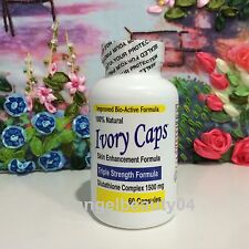 Ivory Caps Glutathione Skin Whitening Pills 1500 MG Thistle Capsules Exp: 01/19