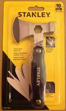 Stanley 10-in-1 Tool Set Axe and Multi-tool Stainless Steel - Heavy Duty