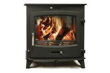Aquaburn 20kW Boiler Stove Woodburner Multifuel Central Heating And Hot Water