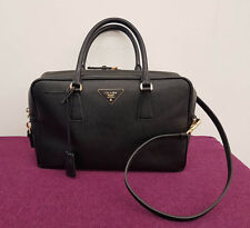 PRADA Tasche schwarz handbag black leather