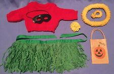 American Girl Pleasant Co Molly Hula Costume Outfit with Hairbow, Bag COMPLETE!