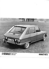 RENAULT 16 TX PRESS PHOTO ' Brochure Connected'