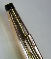 RARE Vintage Cross Century1502 14KT Rolled Gold Pen - made in Ireland