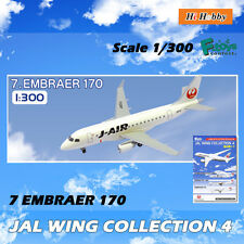 1/300 AIRPLANE MODEL F-TOYS JAL COLLECTION VOL.4 #7 EMBRAER 170 AIRLINE