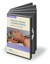 Art Riggs Deep Tissue & Myofascial Release Medical Massage Therapy 7 DVD Set