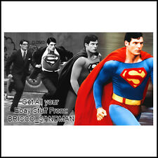 Fridge Fun Refrigerator Magnet SUPERMAN CHRISTOPHER REEVE Movie Photo V: G 70s