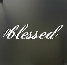 blessed sticker funny race jesus church JDM hooligan stance Drift money decal