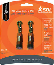 Adventure Medical AD0152 SOL LED Micro Light (2 Pack)