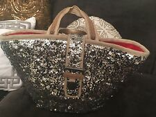 Juicy Couture Sequined Satchel Bag Beautiful Retailed $268