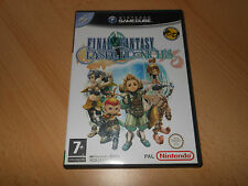 Nintendo GAMECUBE Final Fantasy CRYSTAL CHRONICLES MINT collectors