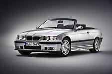 BMW M3 E36 CONVERTABLE CLASSIC CAR POSTER PRINT 24x36 HI RES
