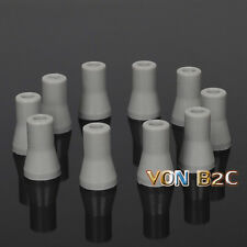 10pcs Dental Oral SE Saliva Ejector Replacement Rubber Valve Snap Tip Adapter
