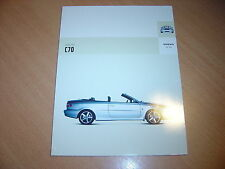 CATALOGUE Volvo C70 de 2004
