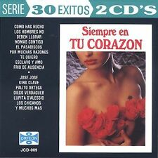 Siempre En Tu Corazon  by Various Artists (CD 2 Discs Brand New Ships Fast !!!