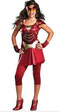 """""""Ironette"""" Iron Man 2 Costume Size Junior Medium 7~9"""