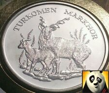 1986 RARE 30th PRESERVE WWF FOR NATURE COIN MEDALLION MARKHOR PNC FDC
