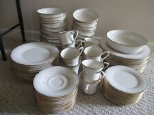 Noritaki Golden Cove Fine China 84 pc set plates / dishes 7719  MINT