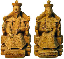 "Emperor and Empress of China 11"" sculptures statues Set Replica Reproduction"