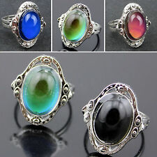 Wholesale Jewelry Lot 5pcs Stainless steel Change color Emotional mood rings