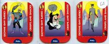 Batman Animated Adventrues - Tayto - Crisps and Snacks Cards 5 Pop-Up Cards 1995