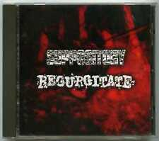 CD metal split SUPPOSITORY / REGURGITATE / Power it up - Badger Records