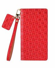 URBANWEST Mesh Patterned Leather Craft Cell Phone Case for Samsung Galaxy Note 7