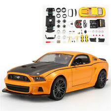 Maisto 1:24 Ford Mustang Street Racer Diecast Assembly Line Metal KIT Model Car