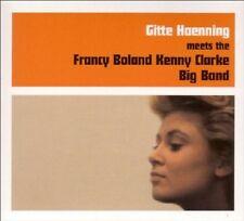 GITTE HAENNING - MEETS THE FRANCY BOLAND KENNY CLARKE BIG BAND  CD NEU