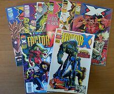 Marvel Comics X-Universe Serie Completa In 8 Vol.1996 (Continuo di X-Force)