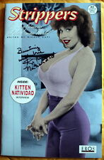 KITTEN Francesca NATIVIDAD Queens of the Exotic World signed Comic!