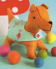 SPANNER Dog - Sewing Craft A5 Creative Card PATTERN - Soft Toy Doll Bear Puppy
