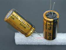 2pcs 2200uF 35V Nichicon Muse FW series Audio  Electrolytic Capacitor